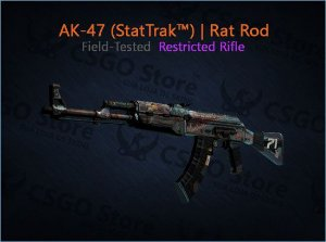 AK-47 (StatTrak™) | Rat Rod (Field-Tested)