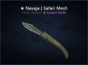 ★ Navaja Knife | Safari Mesh (Field-Tested)