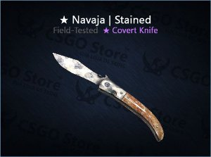 ★ Navaja Knife | Stained (Field-Tested)