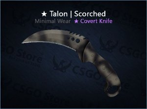 ★ Talon Knife | Scorched (Minimal Wear)