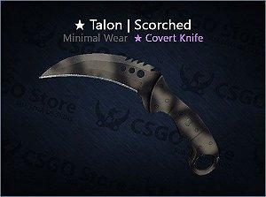 ★ Talon Knife | Scorched (Minimal Wear)