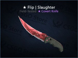 ★ Flip Knife | Slaughter (Field-Tested)