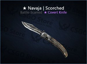 ★ Navaja Knife | Scorched (Battle-Scarred)