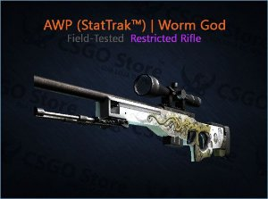 AWP (StatTrak™) | Worm God (Field-Tested)