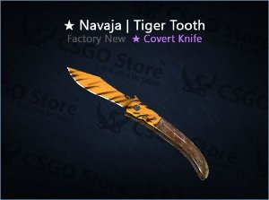 ★ Navaja Knife | Tiger Tooth (Factory New)