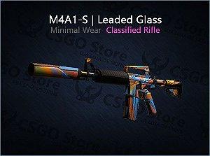 M4A1-S | Leaded Glass (Minimal Wear)