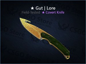 ★ Gut Knife | Lore (Field-Tested)