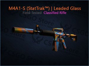 M4A1-S (StatTrak™) | Leaded Glass (Field-Tested)