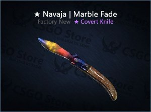 ★ Navaja Knife | Marble Fade (Factory New)