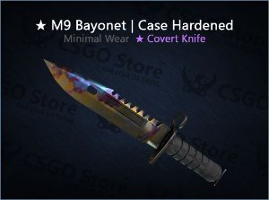 ★ M9 Bayonet | Case Hardened (Minimal Wear)