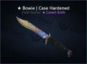 ★ Bowie Knife | Case Hardened (Field-Tested)
