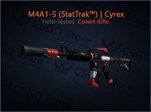 M4A1-S (StatTrak™) | Cyrex (Field-Tested)