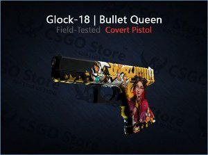Glock-18 | Bullet Queen (Field-Tested)