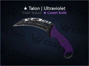 ★ Talon Knife | Ultraviolet (Field-Tested)