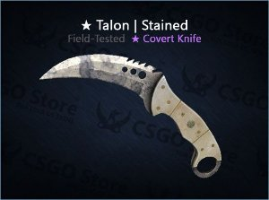 ★ Talon Knife | Stained (Field-Tested)