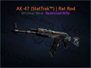 AK-47 (StatTrak™) | Rat Rod (Minimal Wear)