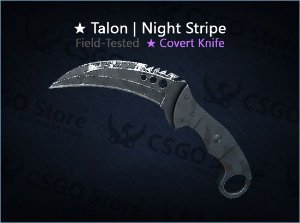 ★ Talon Knife | Night Stripe (Field-Tested)