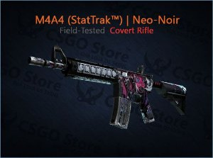 M4A4 (StatTrak™) | Neo-Noir (Field-Tested)