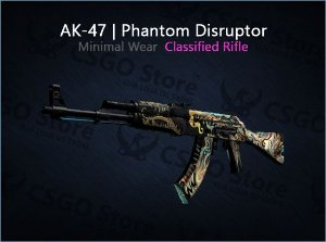 AK-47 | Phantom Disruptor (Minimal Wear)