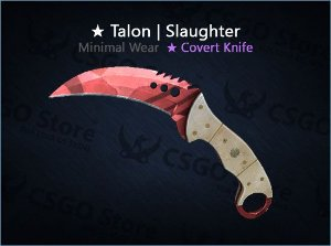 ★ Talon Knife | Slaughter (Minimal Wear)