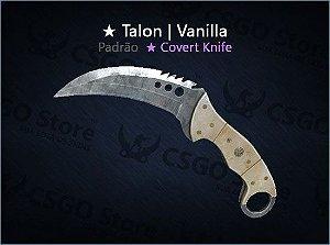 ★ Talon Knife | Vanilla (Padrão)