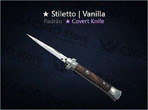 ★ Stiletto Knife | Vanilla (Padrão)