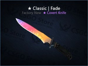 ★ Classic Knife | Fade (Factory New)