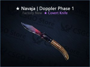 ★ Navaja Knife | Doppler Phase 1 (Factory New)