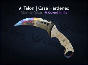 ★ Talon Knife | Case Hardened (Minimal Wear)