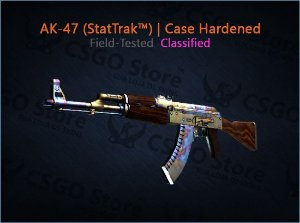 AK-47 (StatTrak™) | Case Hardened (Field-Tested)