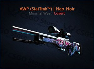 AWP (StatTrak™) | Neo-Noir (Minimal Wear)