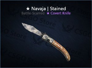 ★ Navaja Knife | Stained (Battle-Scarred)