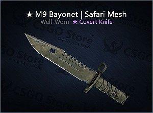 ★ M9 Bayonet   Safari Mesh (Well-Worn)