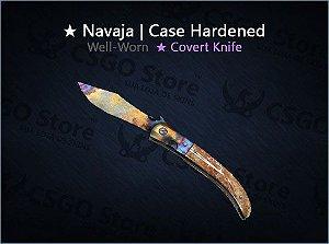 ★ Navaja Knife | Case Hardened (Well-Worn)