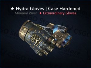 ★ Hydra Gloves | Case Hardened (Minimal Wear)