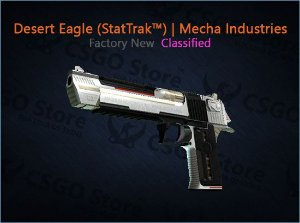 Desert Eagle (StatTrak™) | Mecha Industries (Factory New)