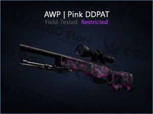 AWP | Pink DDPAT (Field-Tested)