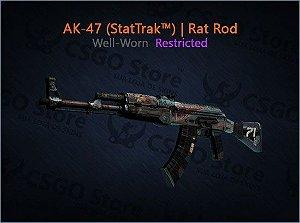 AK-47 (StatTrak™) | Rat Rod (Well-Worn)