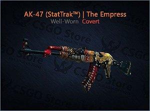 AK-47 (StatTrak™) | The Empress (Well-Worn)