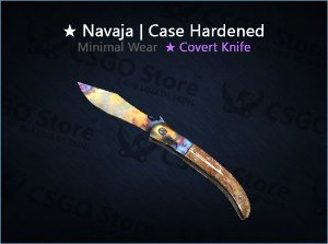 ★ Navaja Knife | Case Hardened (Minimal Wear)