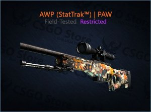 AWP (StatTrak™) | PAW (Field-Tested)