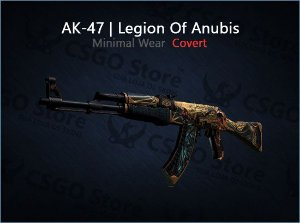 AK-47 | Legion of Anubis (Minimal Wear)