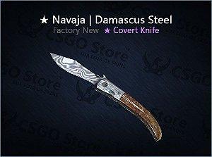 ★ Navaja Knife | Damascus Steel (Factory New)