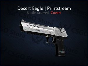 Desert Eagle | Printstream (Battle-Scarred)