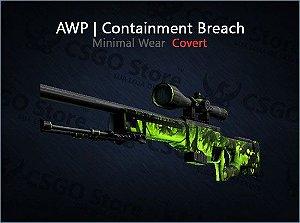 AWP | Containment Breach (Minimal Wear)