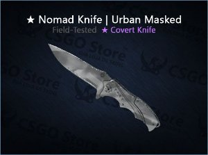 ★ Nomad Knife | Urban Masked (Field-Tested)