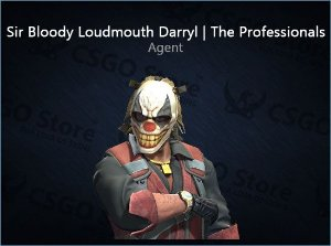 Sir Bloody Loudmouth Darryl | The Professionals