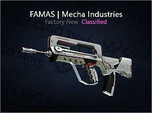 FAMAS | Mecha Industries (Factory New)