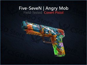 Five-SeveN | Angry Mob (Field-Tested)