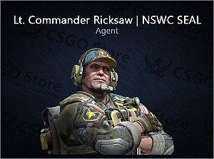 Lt. Commander Ricksaw | NSWC SEAL